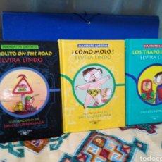 Libros de segunda mano: LOTE DE 3 LIBROS MANOLITO GAFOTAS ( ELVIRA LINDO ). Lote 199494362