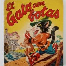 Libros de segunda mano: EL GATO CON BOTAS. EDIT BRUGUERA. Lote 199828648