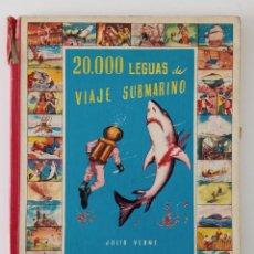 Libros de segunda mano: 20000 LEGUAS DE VIAJE SUBMARINO, JULIO VERNE. COLECCIÓN CINECOLOR . Lote 199908285