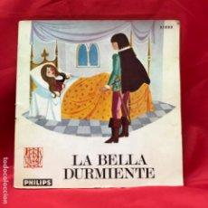 Libros de segunda mano: LA BELLA DURMIENTE LIBRO DISCO PHILIPS SERIE INFANTIL CUENTO Y DISCO AÑOS 60 . Lote 201817718