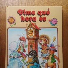 Libros de segunda mano: DIME QUE HORA ES, JOHN PATIENCE, EVEREST, 1994. Lote 202286967