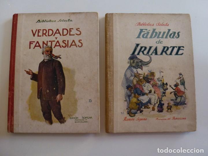 FABULAS DE IRIARTE - VERDADES Y FANTASÍAS - RAMÓN SOPENA - 1936 - CON ILUSTRACIONES EN B/N Y COLOR (Libros de Segunda Mano - Literatura Infantil y Juvenil - Cuentos)