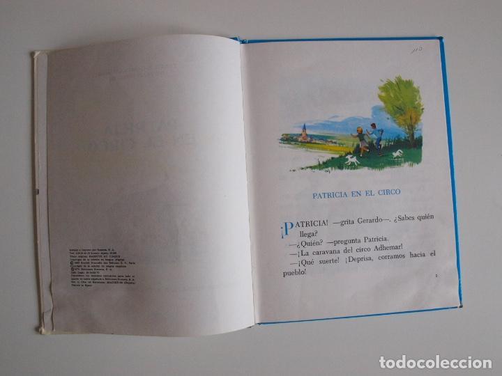 Libros de segunda mano: PATRICIA EN EL CIRCO - COLECCIÓN ROJO Y AZUL - EDITORIAL SUSAETA 1969 - Foto 3 - 202367938