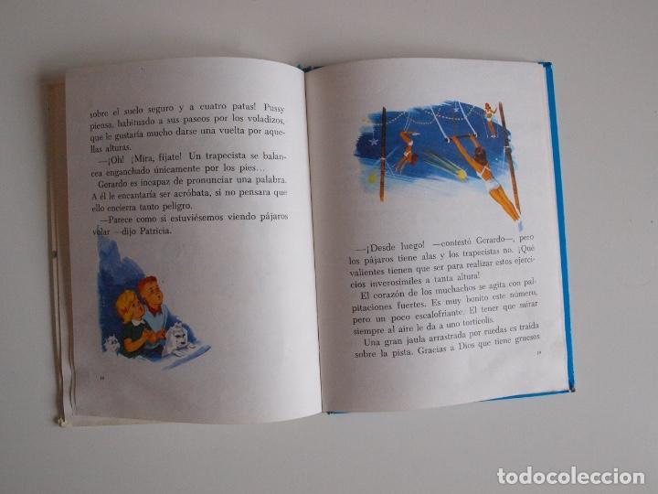 Libros de segunda mano: PATRICIA EN EL CIRCO - COLECCIÓN ROJO Y AZUL - EDITORIAL SUSAETA 1969 - Foto 4 - 202367938