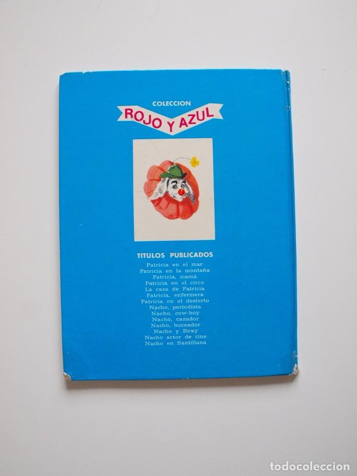 Libros de segunda mano: PATRICIA EN EL CIRCO - COLECCIÓN ROJO Y AZUL - EDITORIAL SUSAETA 1969 - Foto 6 - 202367938