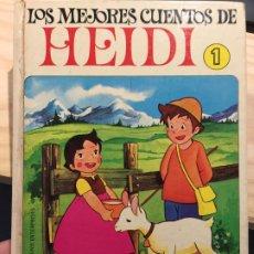 Libros de segunda mano: LOS MEJORES CUENTOS DE HEIDI Nº 1. Lote 202520321