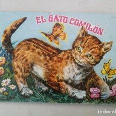 Libros de segunda mano: ANTIGUO Y PRECIOSO CUENTO EL GATO COMILÓN - EDICIONES LAIDA - COLECCION ZOO-VIVO - EN BUEN ESTADO -. Lote 203073325