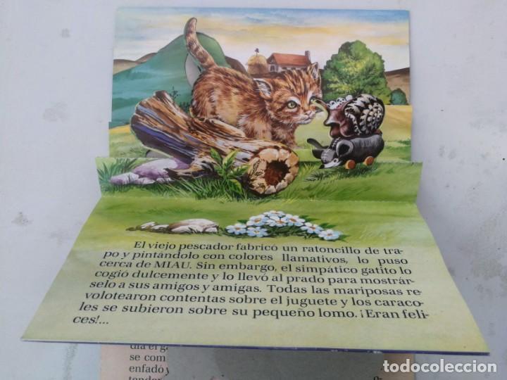 Libros de segunda mano: ANTIGUO Y PRECIOSO CUENTO EL GATO COMILÓN - EDICIONES LAIDA - COLECCION ZOO-VIVO - EN BUEN ESTADO - - Foto 2 - 203073325