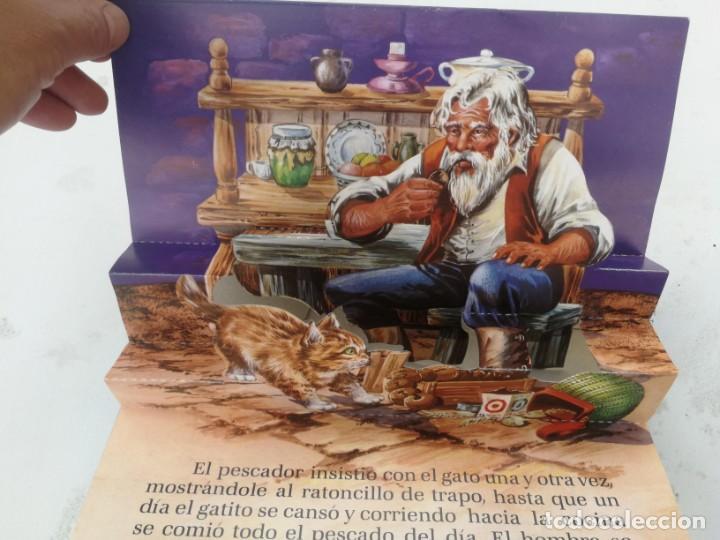 Libros de segunda mano: ANTIGUO Y PRECIOSO CUENTO EL GATO COMILÓN - EDICIONES LAIDA - COLECCION ZOO-VIVO - EN BUEN ESTADO - - Foto 3 - 203073325
