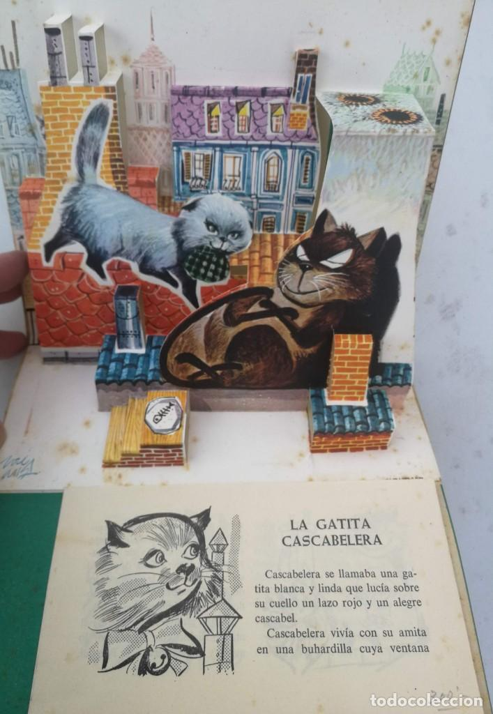 Libros de segunda mano: ANTIGUO Y PRECIOSO CUENTO LA GATITA CASCABELERA - COLECCION BUHITO - 1962 - EDICIONES GAISA - EN BUE - Foto 2 - 203073841