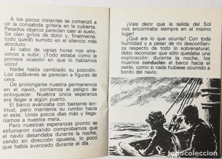 Libros de segunda mano: MINI CUENTO EL BUQUE FANTASMA . BIBLIOTECA UNIVERSAL - Foto 3 - 203168430