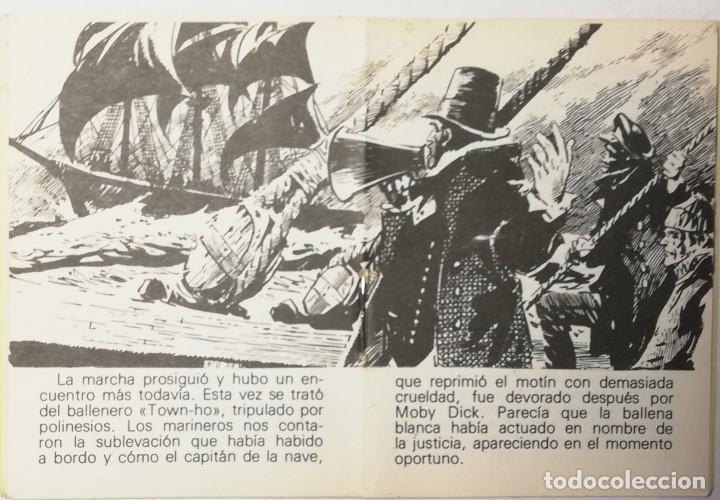 Libros de segunda mano: MINI CUENTO MOBY DICK. BIBLIOTECA UNIVERSAL - Foto 3 - 203168992