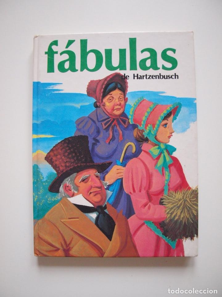 FÁBULAS DE HARTZENBUSCH - JUAN EUGENIO HARTZENBUSCH - Nº 8 - SUSAETA REIMPRESIÓN 1983 (Libros de Segunda Mano - Literatura Infantil y Juvenil - Cuentos)