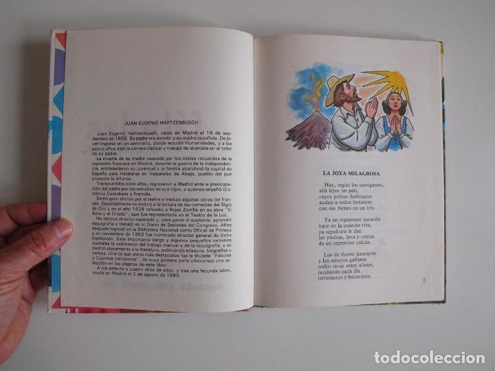 Libros de segunda mano: FÁBULAS DE HARTZENBUSCH - JUAN EUGENIO HARTZENBUSCH - Nº 8 - SUSAETA REIMPRESIÓN 1983 - Foto 4 - 203245520