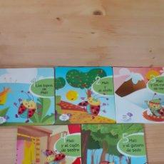 Libros de segunda mano: 5 CUENTOS BABY KIDS, PARA NIÑOS DE 2 AÑOS. Lote 203374507