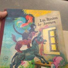 Libros de segunda mano: CUENTO LOS MÚSICOS DE BREMEN N°16 - 1968 - EDITORIAL ROMA -. Lote 186263205