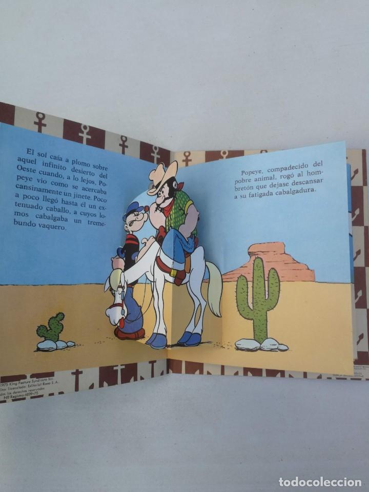 Libros de segunda mano: ANTIGUO Y PRECIOSO CUENTO DESPLEGABLE - POPEYE EN EL DESIERTO - EDITORIAL ROMA - 1975 - POPITOS POPE - Foto 2 - 203835425