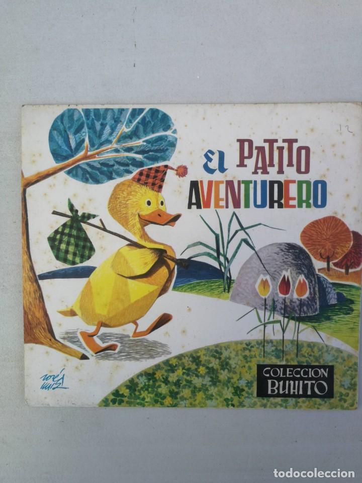 ANTIGUO Y BONITO CUENTO EL PATITO AVENTURERO CON DIORAMA - COLECCION BUHITO - 1962 - EDICIONES GAISA (Libros de Segunda Mano - Literatura Infantil y Juvenil - Cuentos)