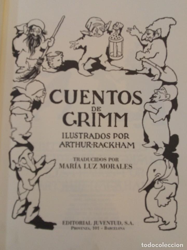 Libros de segunda mano: HERMANOS GRIMM. Cuentos de Grimm. RM84436. - Foto 3 - 103774855