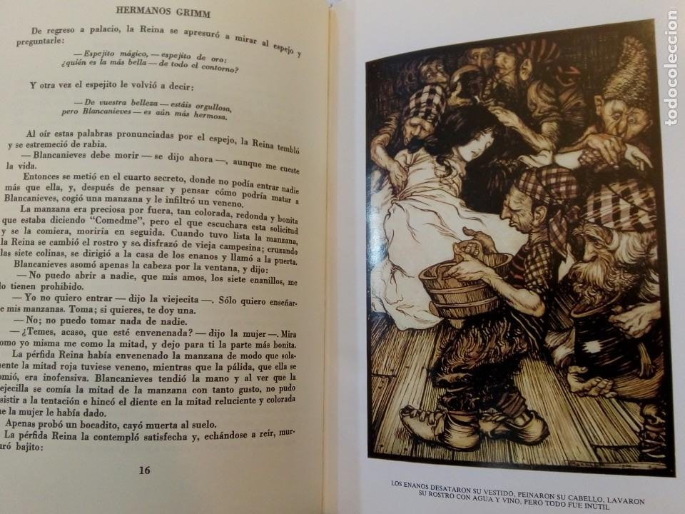Libros de segunda mano: HERMANOS GRIMM. Cuentos de Grimm. RM84436. - Foto 4 - 103774855