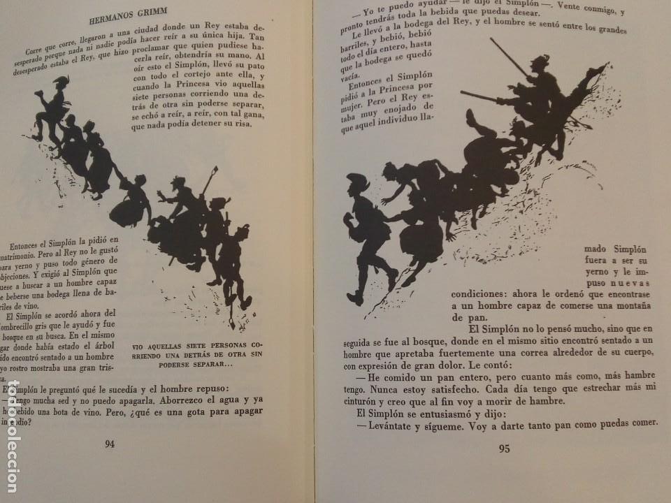 Libros de segunda mano: HERMANOS GRIMM. Cuentos de Grimm. RM84436. - Foto 6 - 103774855