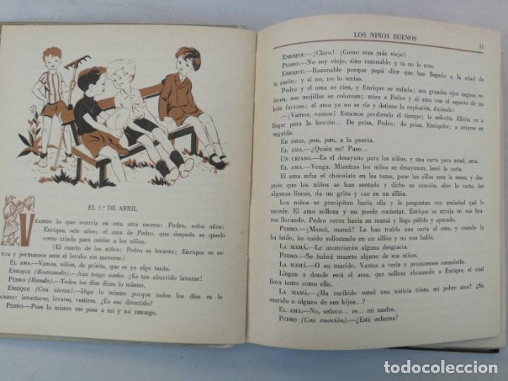 Libros de segunda mano: ANTIGUO CUENTO DE CONDESA SEGUR - LOS NIÑOS BUENOS - EDITORIAL AGUILAR - 1950 - LOMO POR DENTRO UN P - Foto 2 - 204139830