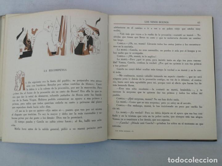 Libros de segunda mano: ANTIGUO CUENTO DE CONDESA SEGUR - LOS NIÑOS BUENOS - EDITORIAL AGUILAR - 1950 - LOMO POR DENTRO UN P - Foto 3 - 204139830