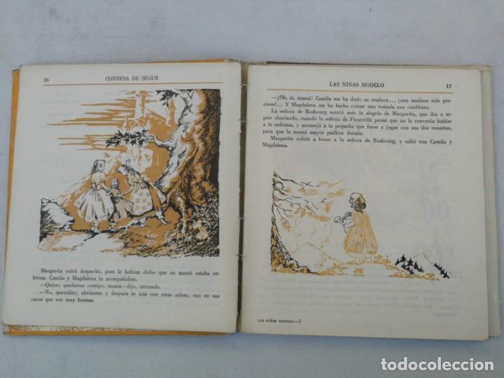 Libros de segunda mano: ANTIGUA NOVELA PARA NIÑAS DE CONDESA SEGUR - LAS NIÑAS MODELO - EDITORIAL AGUILAR - 1950 - LOMO POR - Foto 2 - 204140070