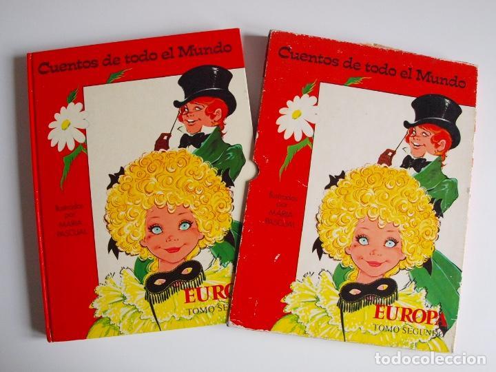 CUENTOS DE TODO EL MUNDO ILUSTRADOS POR MARÍA PASCUAL - EUROPA, TOMO SEGUNDO -TORAY 1975 - CON CAJA (Libros de Segunda Mano - Literatura Infantil y Juvenil - Cuentos)