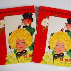 Libros de segunda mano: CUENTOS DE TODO EL MUNDO ILUSTRADOS POR MARÍA PASCUAL - EUROPA, TOMO SEGUNDO -TORAY 1975 - CON CAJA. Lote 204219548