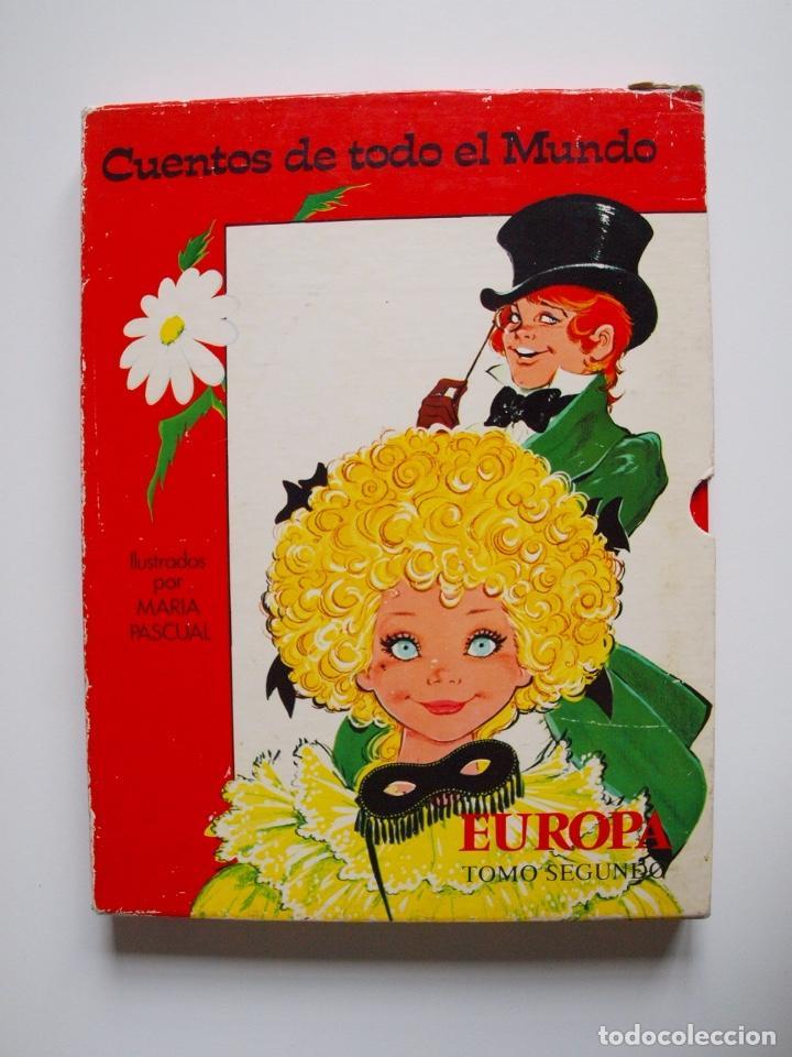 Libros de segunda mano: CUENTOS DE TODO EL MUNDO ILUSTRADOS POR MARÍA PASCUAL - EUROPA, TOMO SEGUNDO -TORAY 1975 - CON CAJA - Foto 2 - 204219548