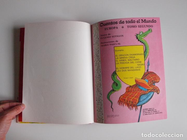 Libros de segunda mano: CUENTOS DE TODO EL MUNDO ILUSTRADOS POR MARÍA PASCUAL - EUROPA, TOMO SEGUNDO -TORAY 1975 - CON CAJA - Foto 4 - 204219548