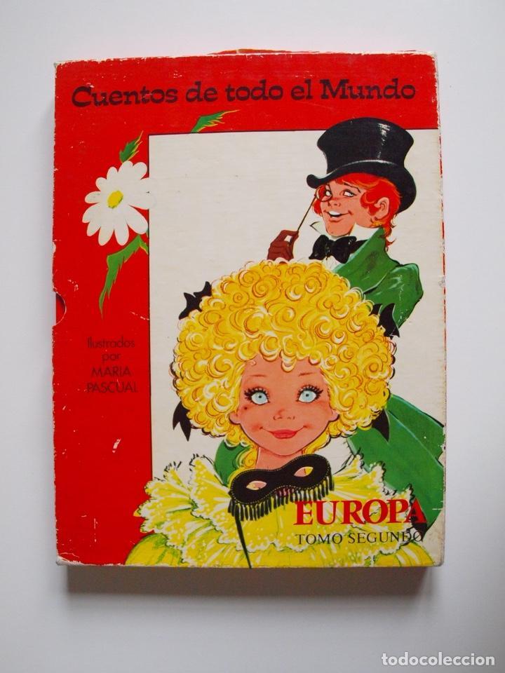Libros de segunda mano: CUENTOS DE TODO EL MUNDO ILUSTRADOS POR MARÍA PASCUAL - EUROPA, TOMO SEGUNDO -TORAY 1975 - CON CAJA - Foto 20 - 204219548