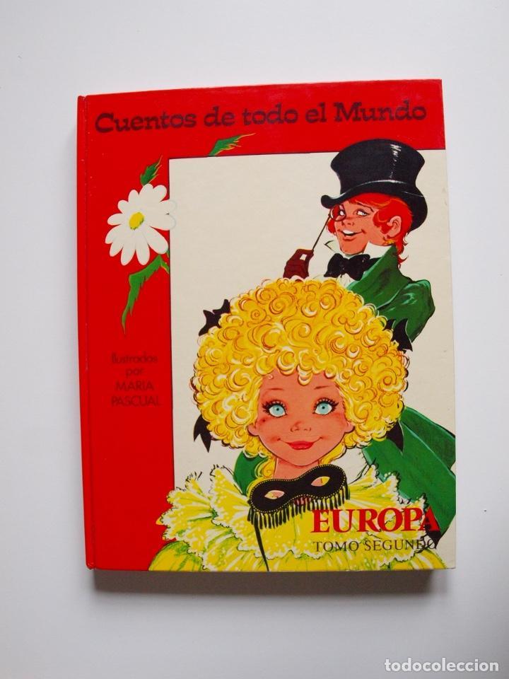 Libros de segunda mano: CUENTOS DE TODO EL MUNDO ILUSTRADOS POR MARÍA PASCUAL - EUROPA, TOMO SEGUNDO -TORAY 1975 - CON CAJA - Foto 22 - 204219548