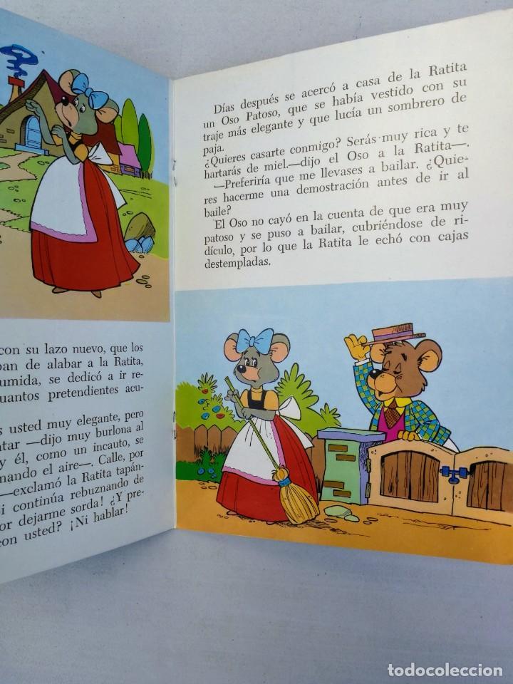 Libros de segunda mano: ANTIGUO Y PRECIOSO CUENTO DINAMICO Y TROQUELADO - LA RATITA PRESUMIDA CUENTOS DINAMICOS - EDITORIAL - Foto 3 - 204272350