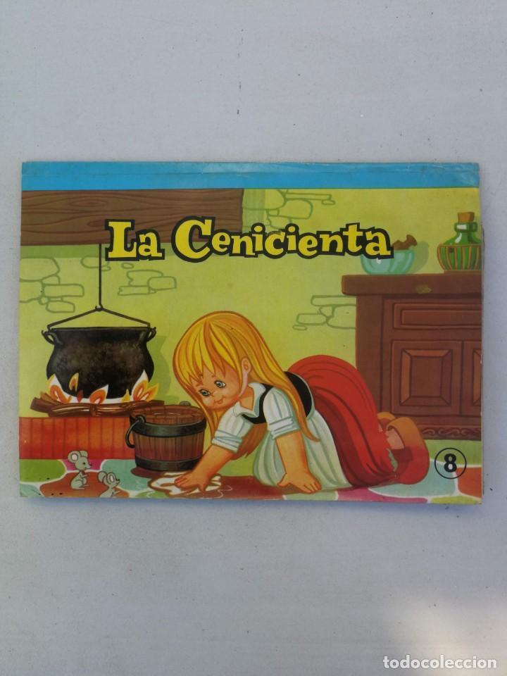ANTIGUO Y PRECIOSO CUENTO PANORAMICO Y TROQUELADO - LA CENICIENTA - CUENTOS CLASICOS - EDITORIAL ROM (Libros de Segunda Mano - Literatura Infantil y Juvenil - Cuentos)