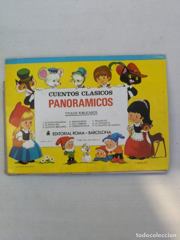 Libros de segunda mano: ANTIGUO Y PRECIOSO CUENTO PANORAMICO Y TROQUELADO - LA CENICIENTA - CUENTOS CLASICOS - EDITORIAL ROM - Foto 4 - 204273075