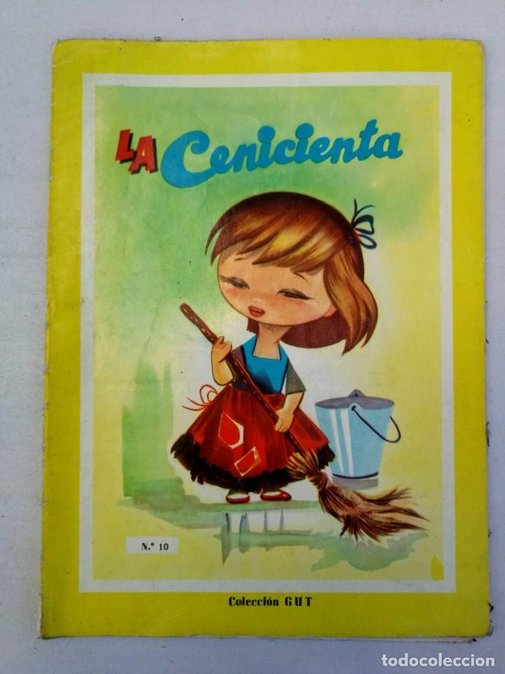 ANTIGUO Y PRECIOSO CUENTO DE LA CENICIENTA - COLECCIÓN GUT - EDICIONES FHER 1962 - (Libros de Segunda Mano - Literatura Infantil y Juvenil - Cuentos)