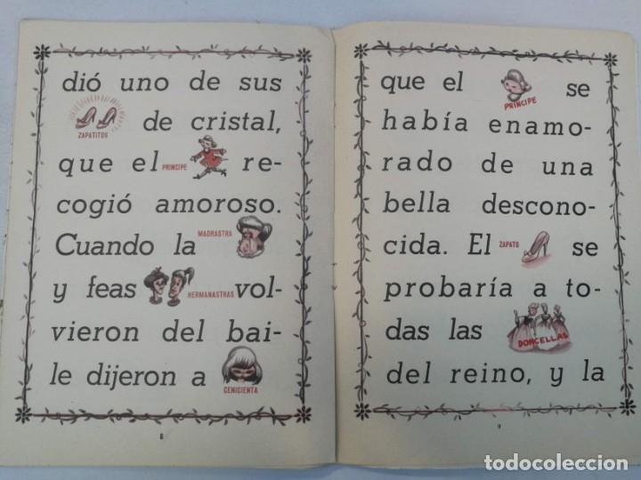 Libros de segunda mano: ANTIGUO Y PRECIOSO CUENTO DE LA CENICIENTA - COLECCIÓN GUT - EDICIONES FHER 1962 - - Foto 2 - 204320931