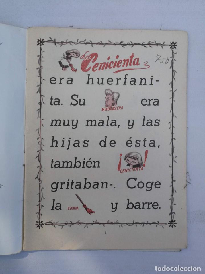 Libros de segunda mano: ANTIGUO Y PRECIOSO CUENTO DE LA CENICIENTA - COLECCIÓN GUT - EDICIONES FHER 1962 - - Foto 3 - 204320931