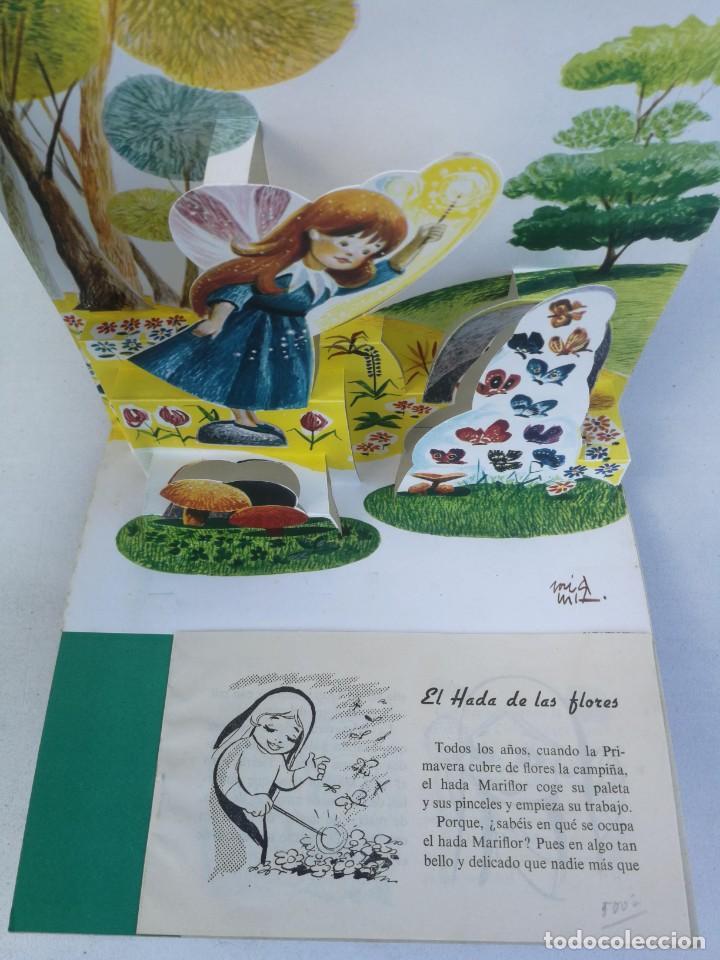 Libros de segunda mano: ANTIGUO Y PRECIOSO CUENTO EL HADA MIRA-FLOR - COLECCIÓN BUHITO - AÑO 1962 - EDICIONES GAISA - - Foto 2 - 204321393