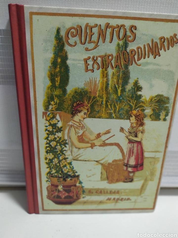CUENTOS EXTRAORDINARIOS - S. CALLEJA - EDAF - FACSIMIL 2004 - 123 PAGINAS (Libros de Segunda Mano - Literatura Infantil y Juvenil - Cuentos)