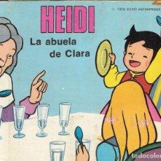 Livros em segunda mão: LIBRO DIORAMA - HEIDI - LA ABUELA DE CLARA - ESCENAS HEIDI Nº 5 - EDITORIAL ROMA, 1976.. Lote 204744773