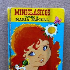 Libri di seconda mano: MINICLÁSICOS TOMO 3 / MARÍA PASCUAL / TORAY /. Lote 204766683