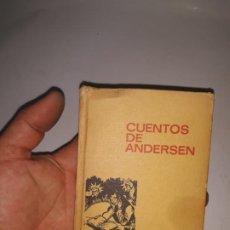 Libros de segunda mano: CUENTOS DE ANDERSEN/HISTORIAS INFANTIL 6 - ED.BRUGUERA 1968. Lote 205331116