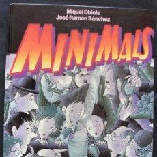 Libros de segunda mano: MINIMALS - MIQUEL OBIOLS - JOSE RAMON SANCHEZ - ALIORNA EDITORIAL, 1988 -. Lote 205594821