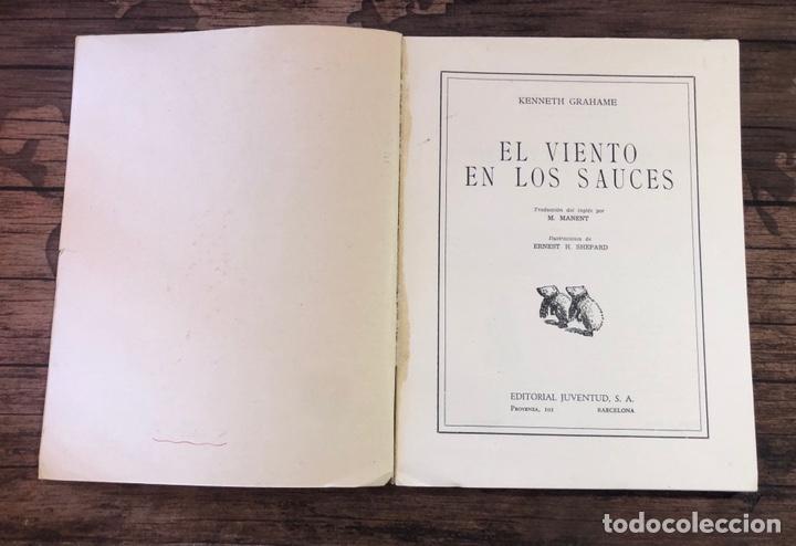 Libros de segunda mano: EL VIENTO EN LOS SAUCES, (EDITORIAL JUVENTUD) - Foto 2 - 206320628