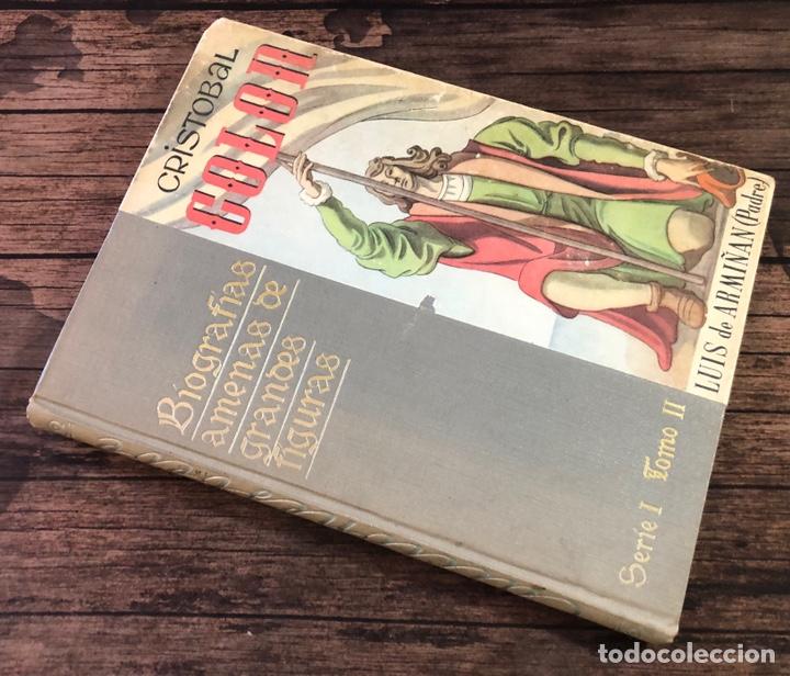 CRISTOBAL COLON, BIOGRAFIAS AMENAS DE GRANDES FIGURAS, (EDICIONES BEBE) (Libros de Segunda Mano - Literatura Infantil y Juvenil - Cuentos)