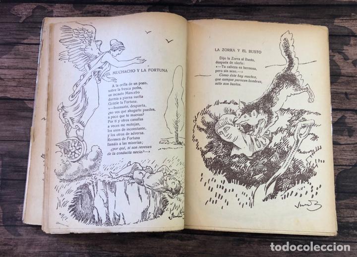Libros de segunda mano: LAS MEJORES FABULAS DE IRIARTE Y SAMANIEGO, 2ª EDICION, (EDITORIAL LUCERO) - Foto 2 - 206322352
