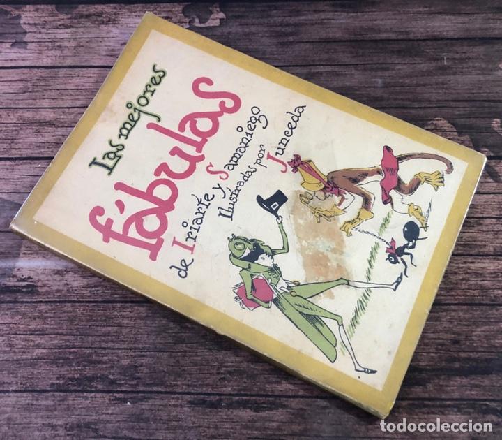 LAS MEJORES FABULAS DE IRIARTE Y SAMANIEGO, 2ª EDICION, (EDITORIAL LUCERO) (Libros de Segunda Mano - Literatura Infantil y Juvenil - Cuentos)